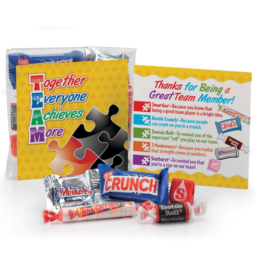 TEAM (Together Everyone Achieves More) Snack Kit ...