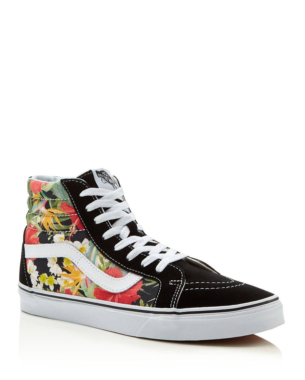 1f05a37ecc Vans digi aloha high top sneakers vivid floral print stands jpg 1200x1500  Floral vans high tops