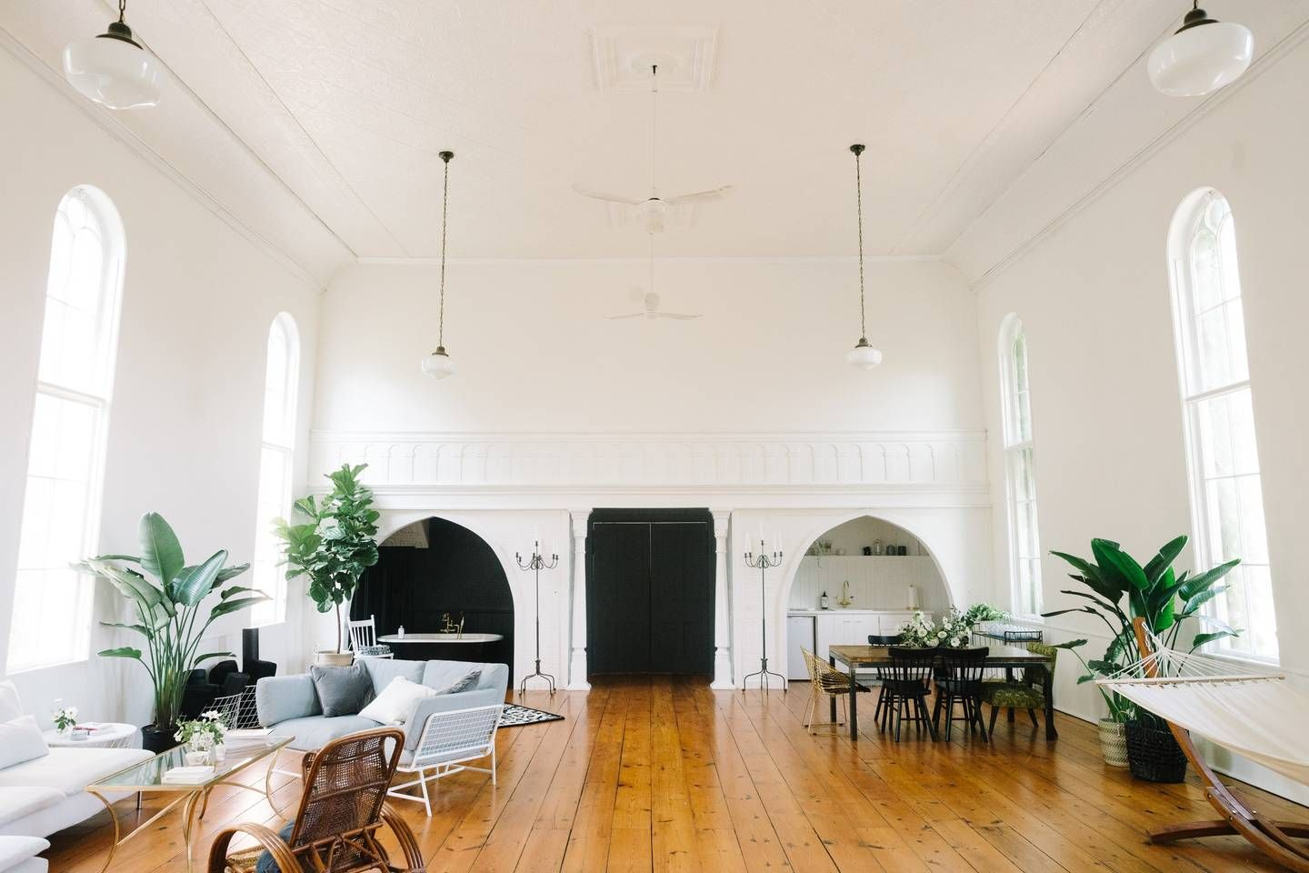 Sanctuary In The County 1800s Church Houses For Rent In Prince Edward Renting A House Church Decor Living Room Interior
