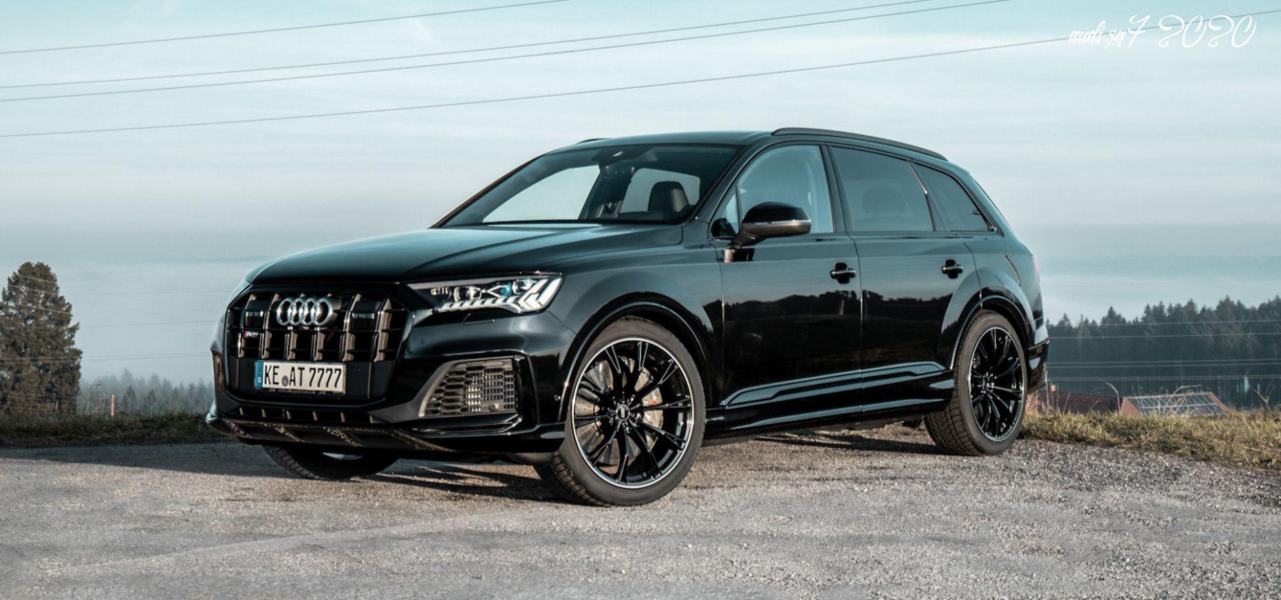 Audi Sq7 2020 In 2020 Audi Car Car Review