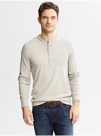 Heritage Ribbed Henley