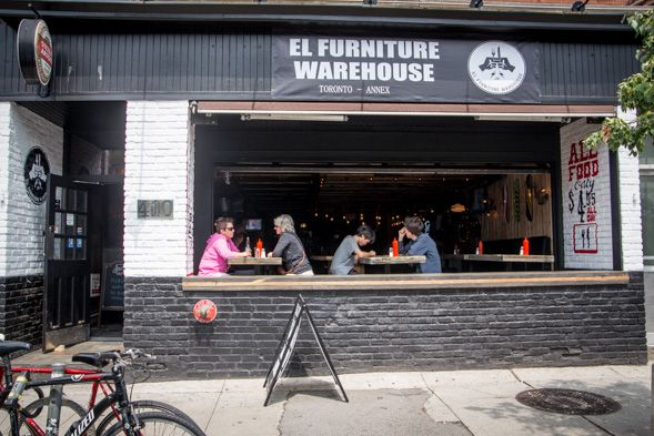 El furniture warehouse cafes and hotels in