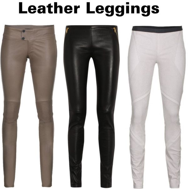 """Leather Leggings"" by carem04 on Polyvore"