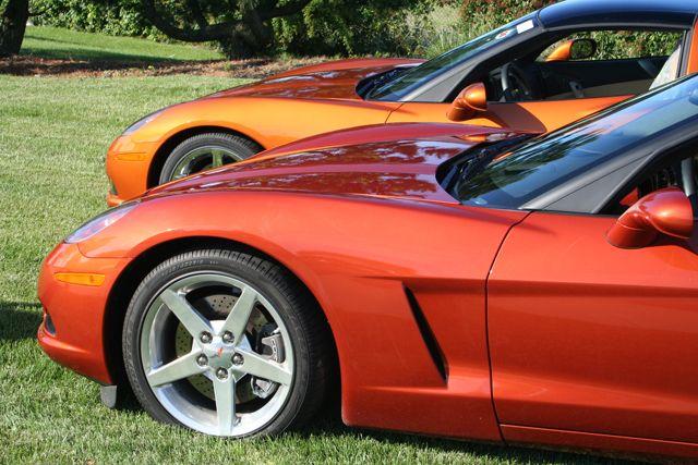 Daytona Sunset Orange Close And Atomic Far Car Colors Paint