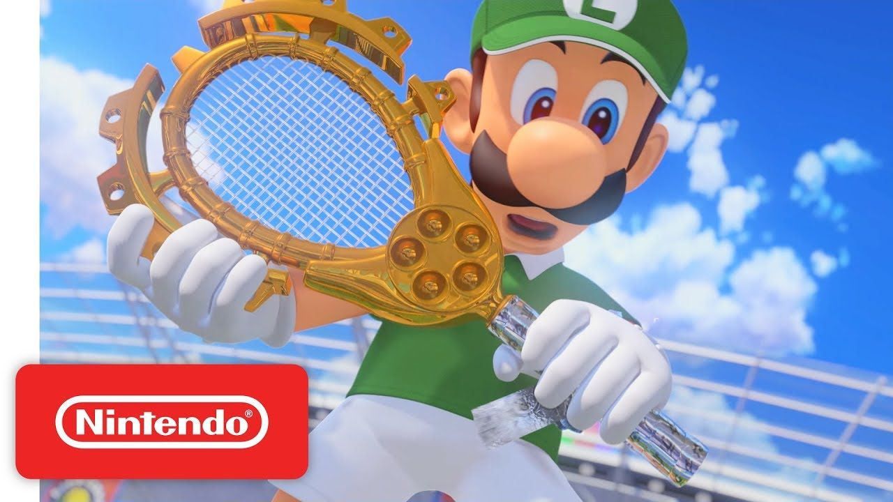 Mario Tennis Aces Serves Up Story Trailer Online Demo