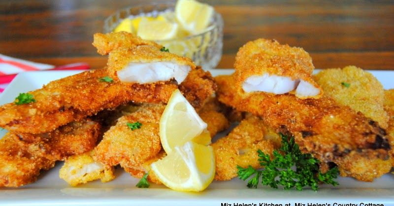 Crappie is a very mild fresh water white fish. This recipe ...