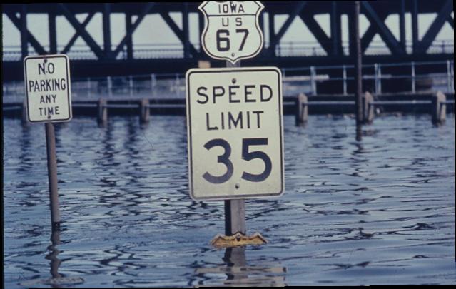 davenport iowa history.com 1965 Mississippi River Flood