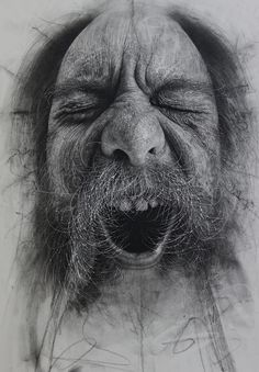 Scottish artist Douglas McDougall creates fantastically photorealistic drawings using charcoal as his primary medium but then he textures each work using scalpel blades, sharply cut erasers and coarse sandpaper. - My Modern Metropolis
