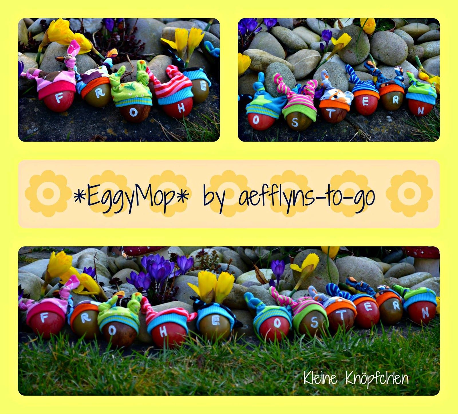 aefflynS - to go: 'EggyMop' - DIE Osterdeko 2015 - FREEBOOK