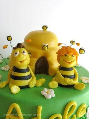 sogni di zucchero: Maia cake topper