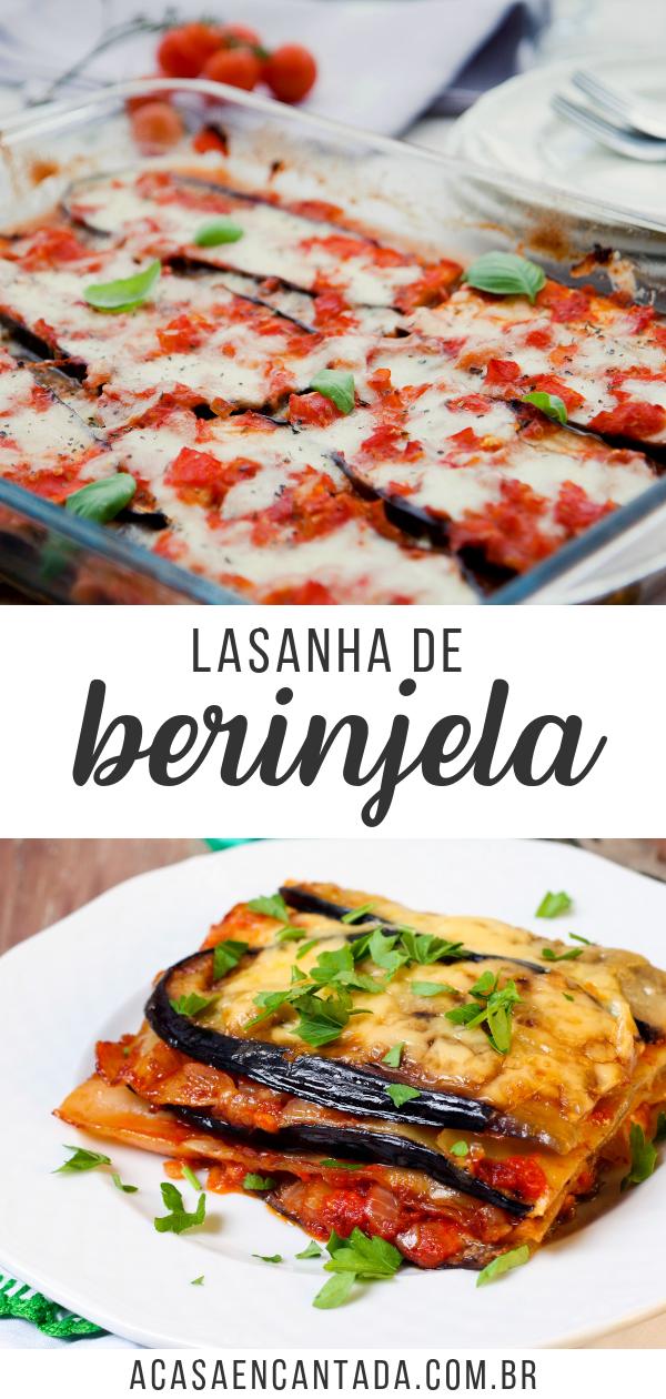 Photo of Lasanha de Berinjela Vegetariana | A casa encantada
