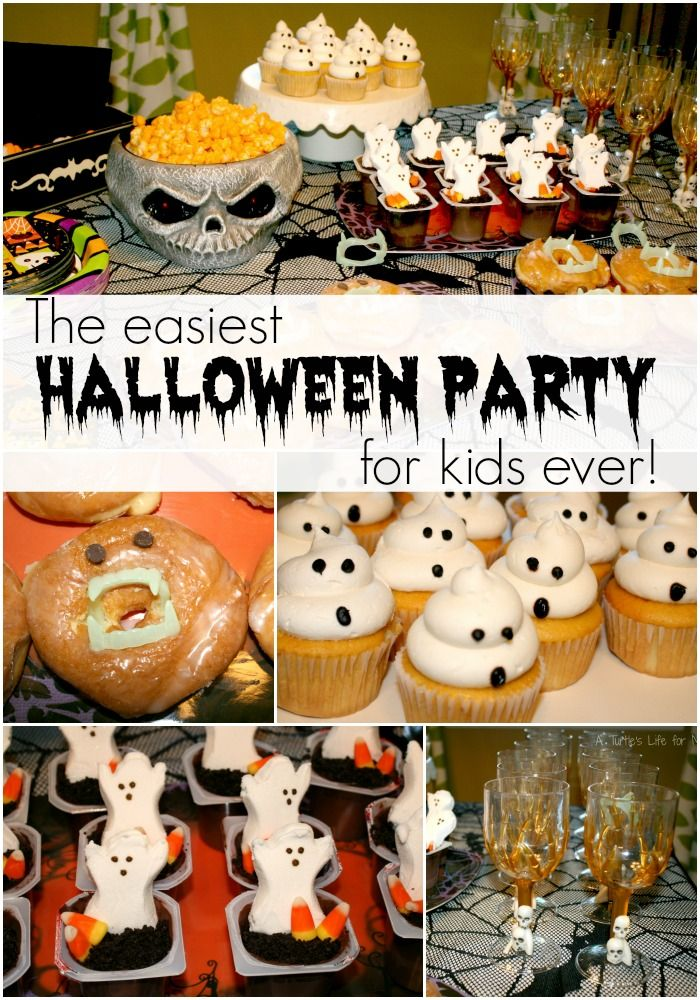 This is the EASIEST Halloween party to throw ever