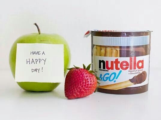 Nutella..for a happy day!
