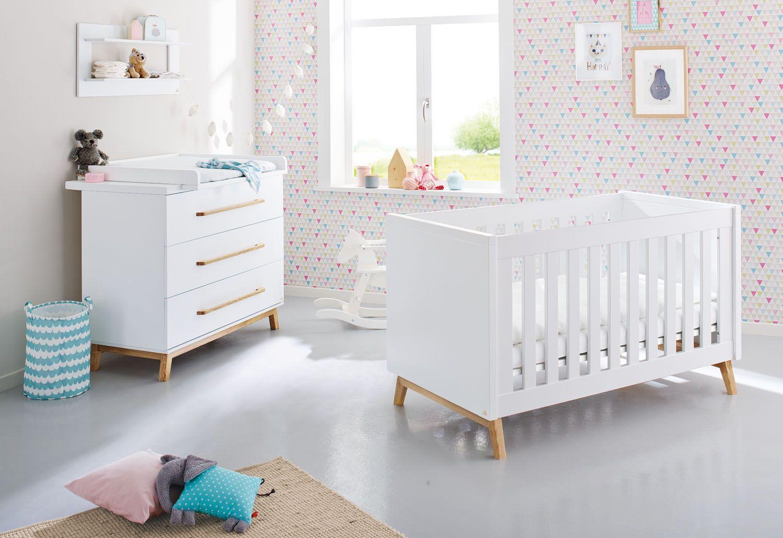 Sparset Werden Zweiteilig Angeboten Und Besteht Aus Dem Kinderbett Und Der  Wickelkommode. Ist Das Kind Ungefähr 3 Jahre, Dann Kann Man Das Kinderbett  In Ein ...