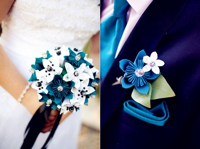 wedding bouquets fresh flowers diy paper flower inspiration for your ...