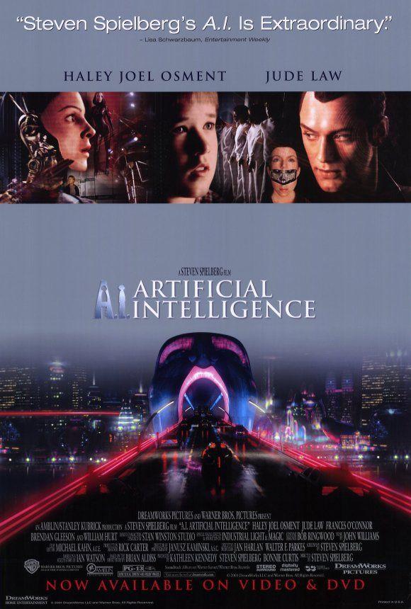 A I Artificial Intelligence Filmes Setima Arte Arte