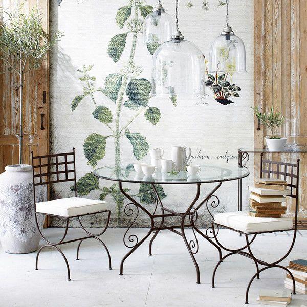 runder esstisch aus glas und  - toscane | seats | pinterest, Esszimmer dekoo