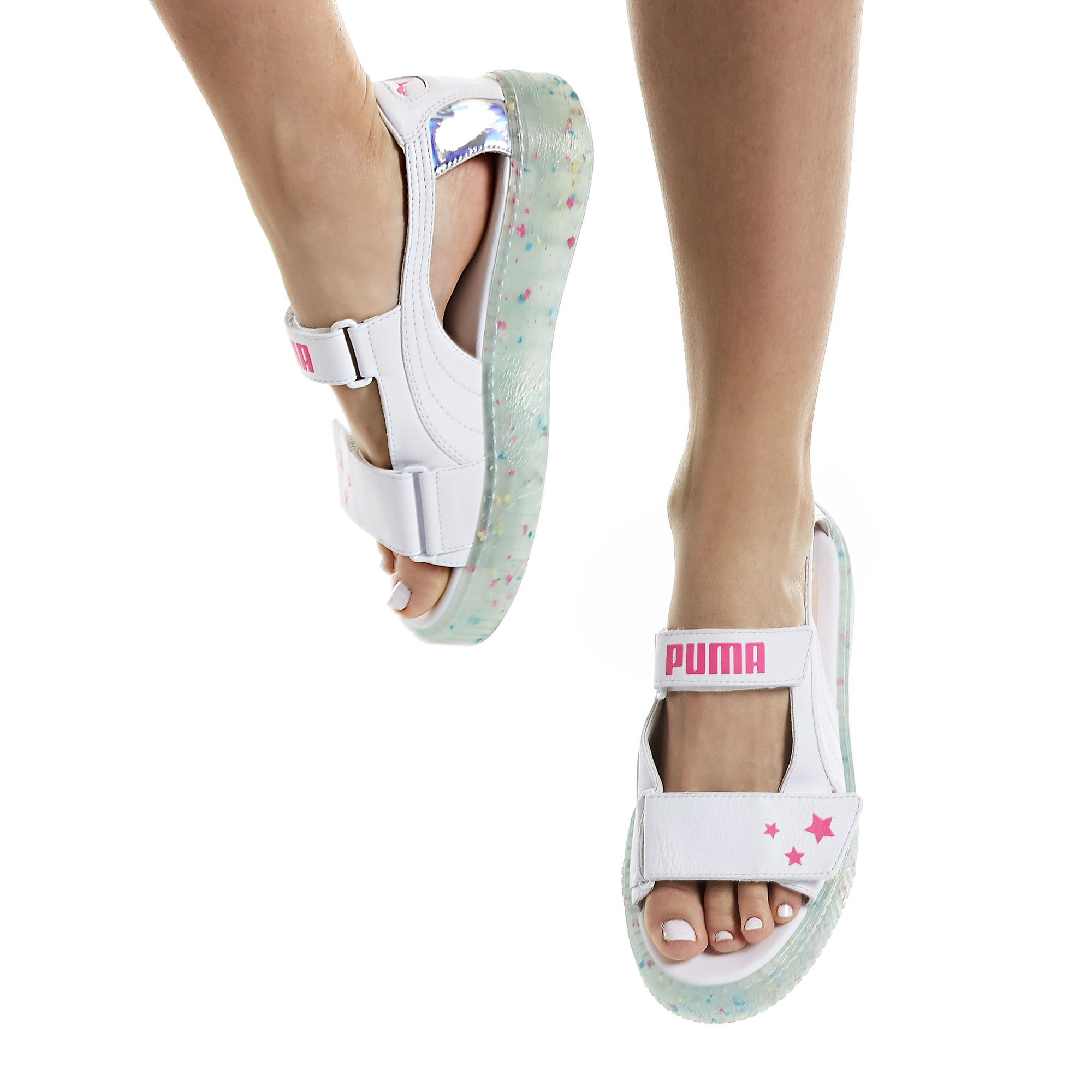 09519690591 PUMA x SOPHIA WEBSTER Women s Platform Sandals