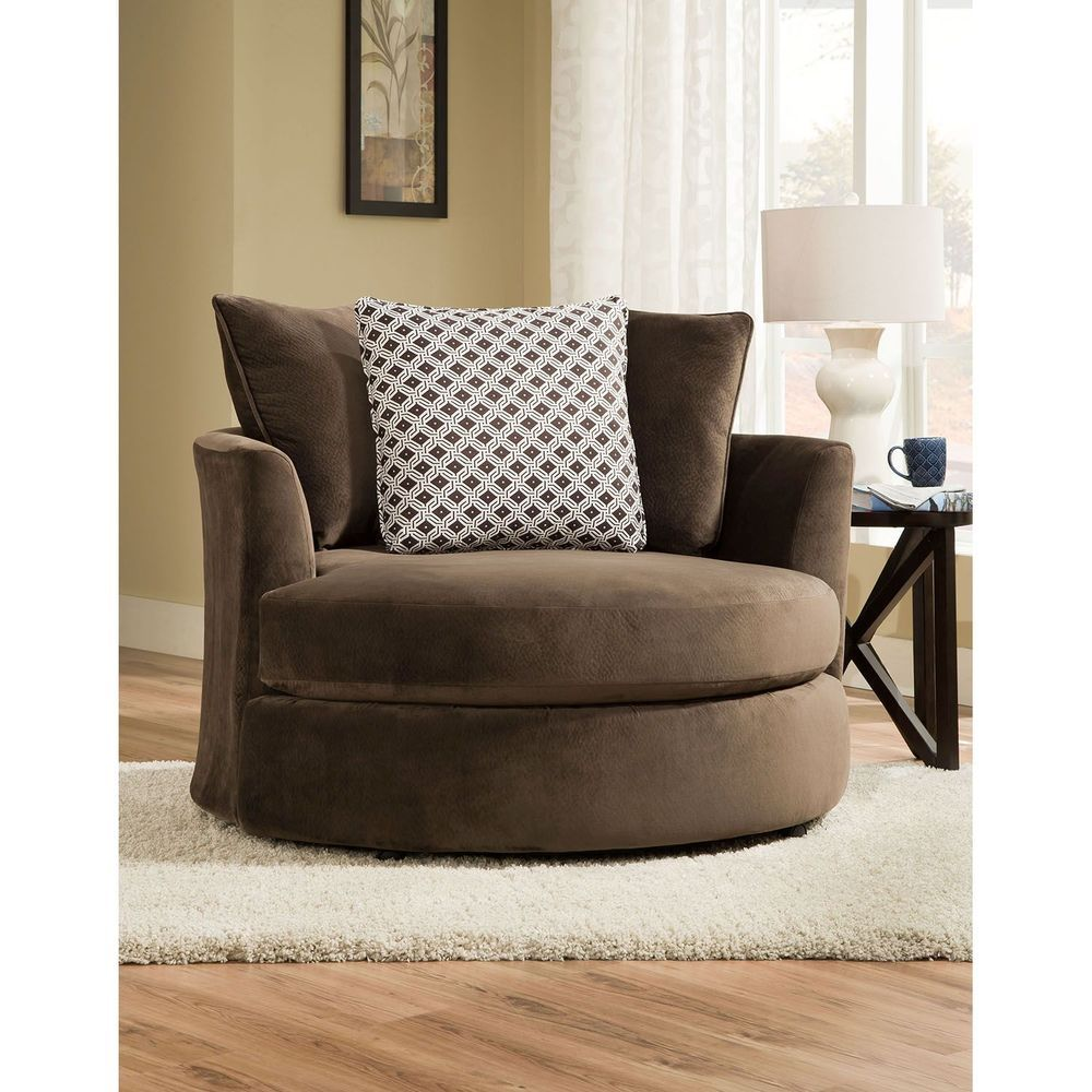Room Round Swivel Chair Arm
