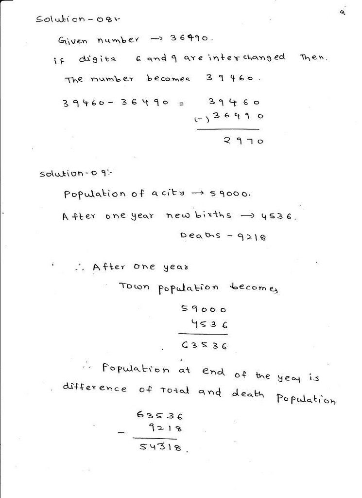 RD Sharma Maths Solutions Class 6 Chapter 4 Whole Numbers Exercise ...