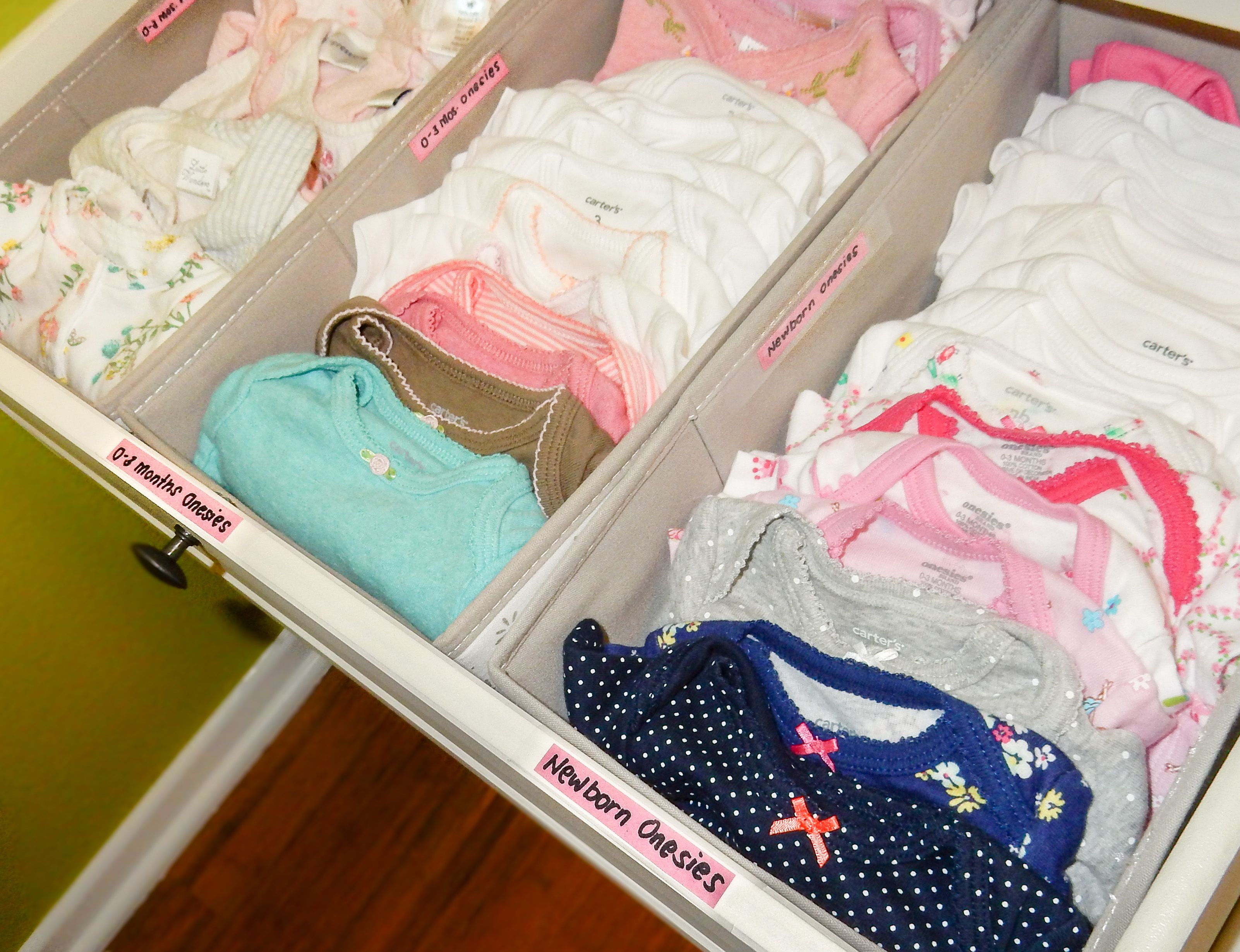 Baby Dresser Organization Tips1 Baby Olivia 39 S Closet Pinterest Baby Dresser Organization