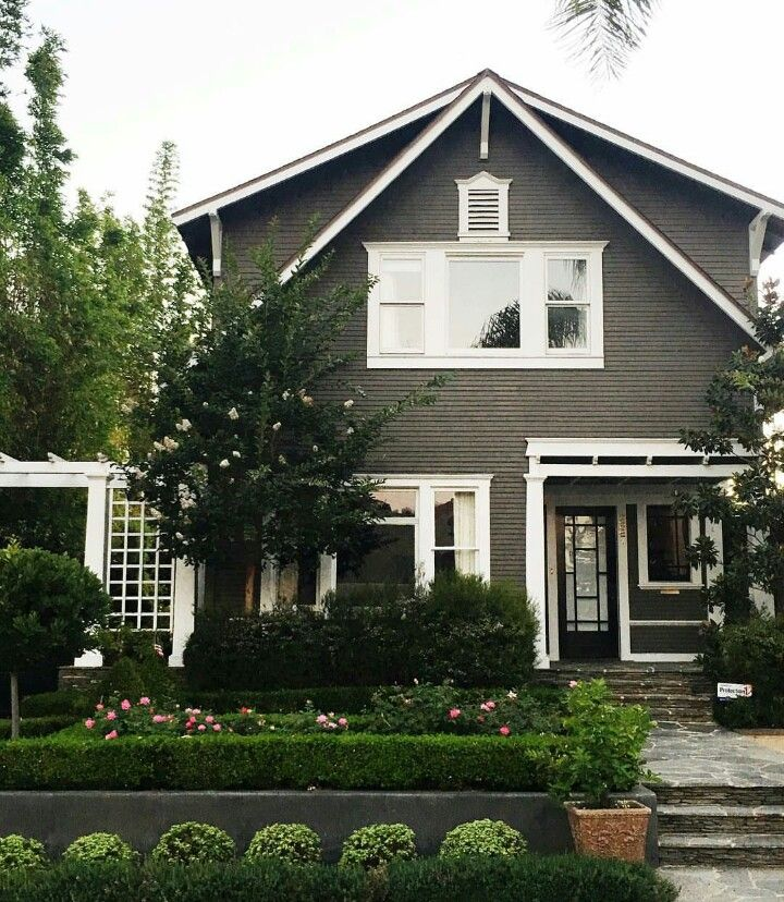 Exterior House Paint Color Ideas: Olive Green House Exterior