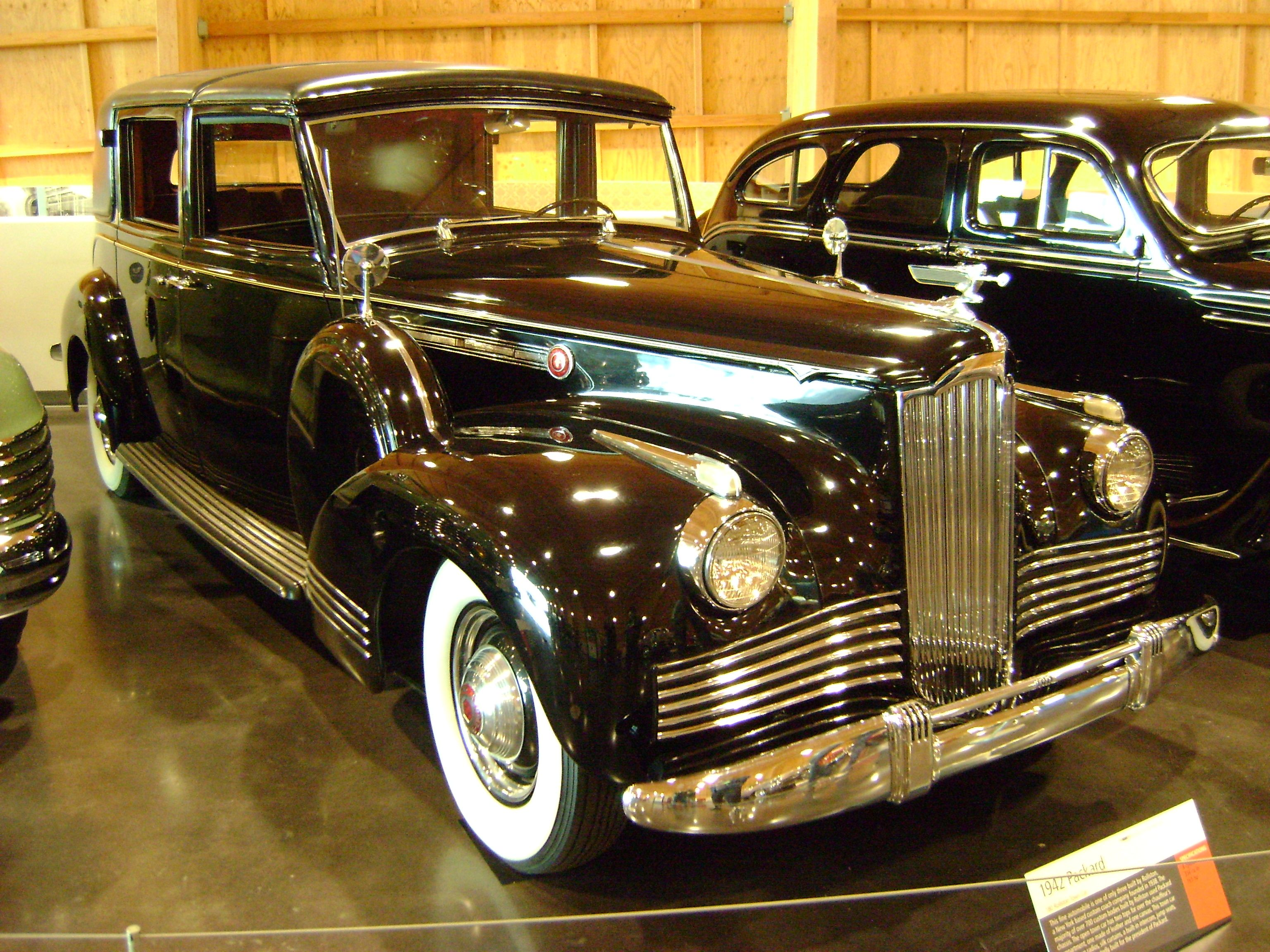 Packard Photo Taken At LeMay Museum In Tacoma WA USA - Classic car museums in usa