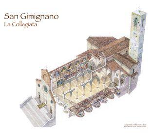 Duomo di San Gimignano - cattedrale collegiata museo arte sacra san gimignano