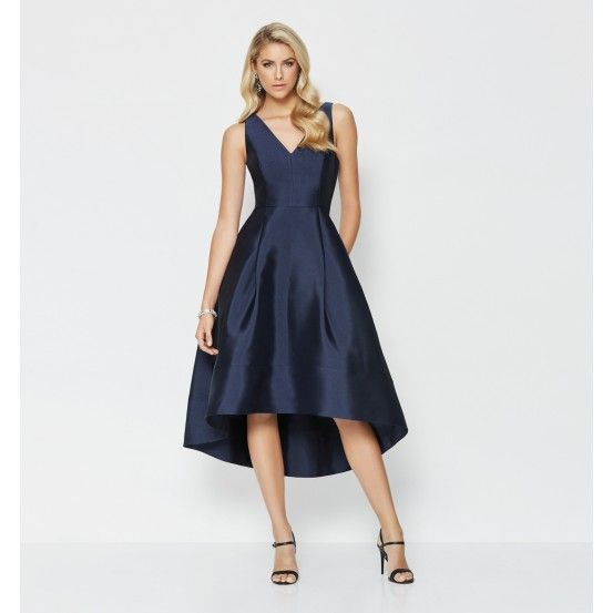 Forever New - Lydia V-Neck High-Low Prom Dress  51cb6e6ff