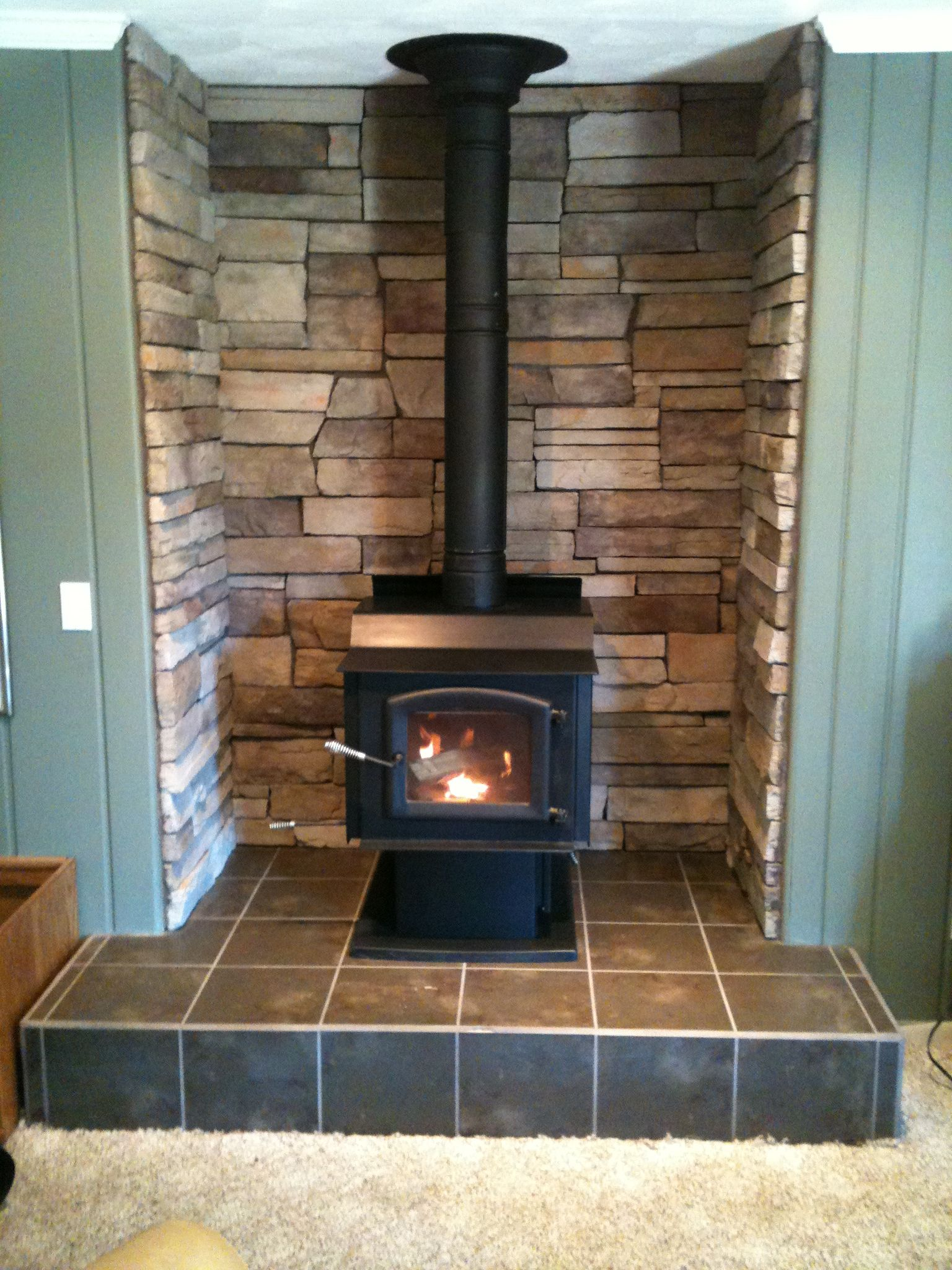 1st Winter Review Kuma Wood Classic Wood Stove Pellet Stove Wood