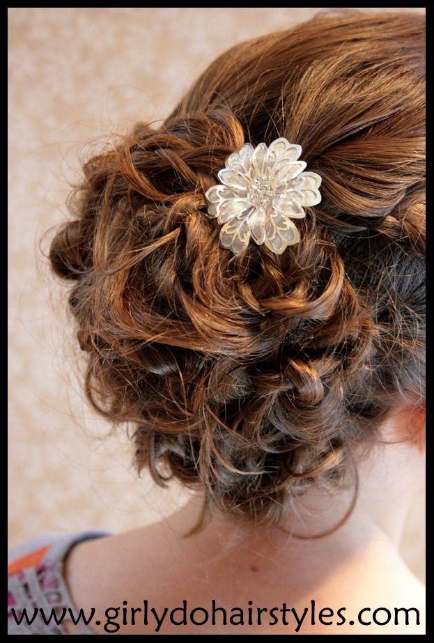 Girly Do's By Jenn: BIG Beautiful Updo {Prom/Wedding Ready}
