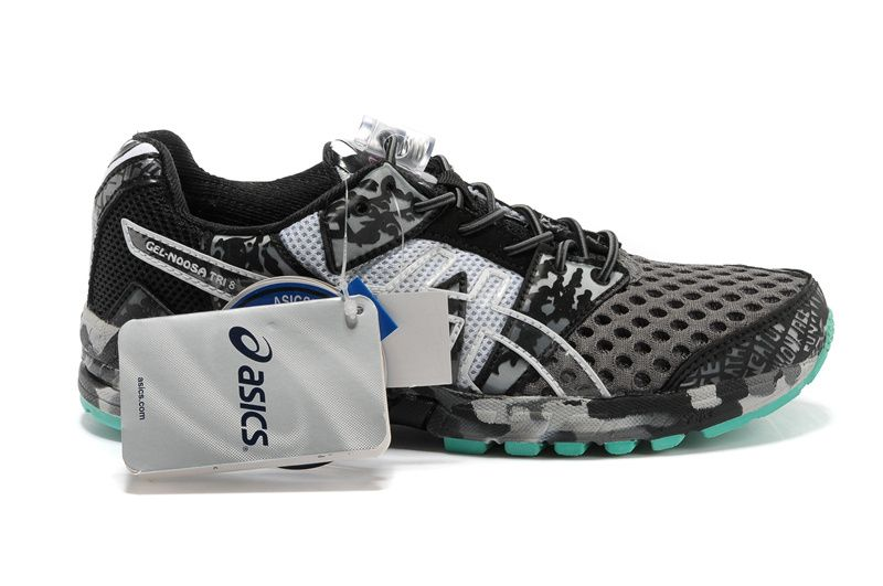 on sale 7c47e bcd62 Women Asics Gel-Noosa Tri 8 Black Green