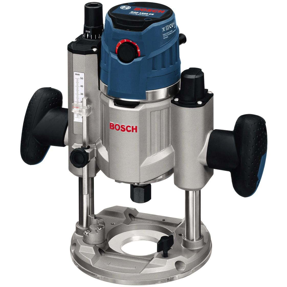 bosch variable speed router 1600w, max:25000rpm, 6kg gof1600ce