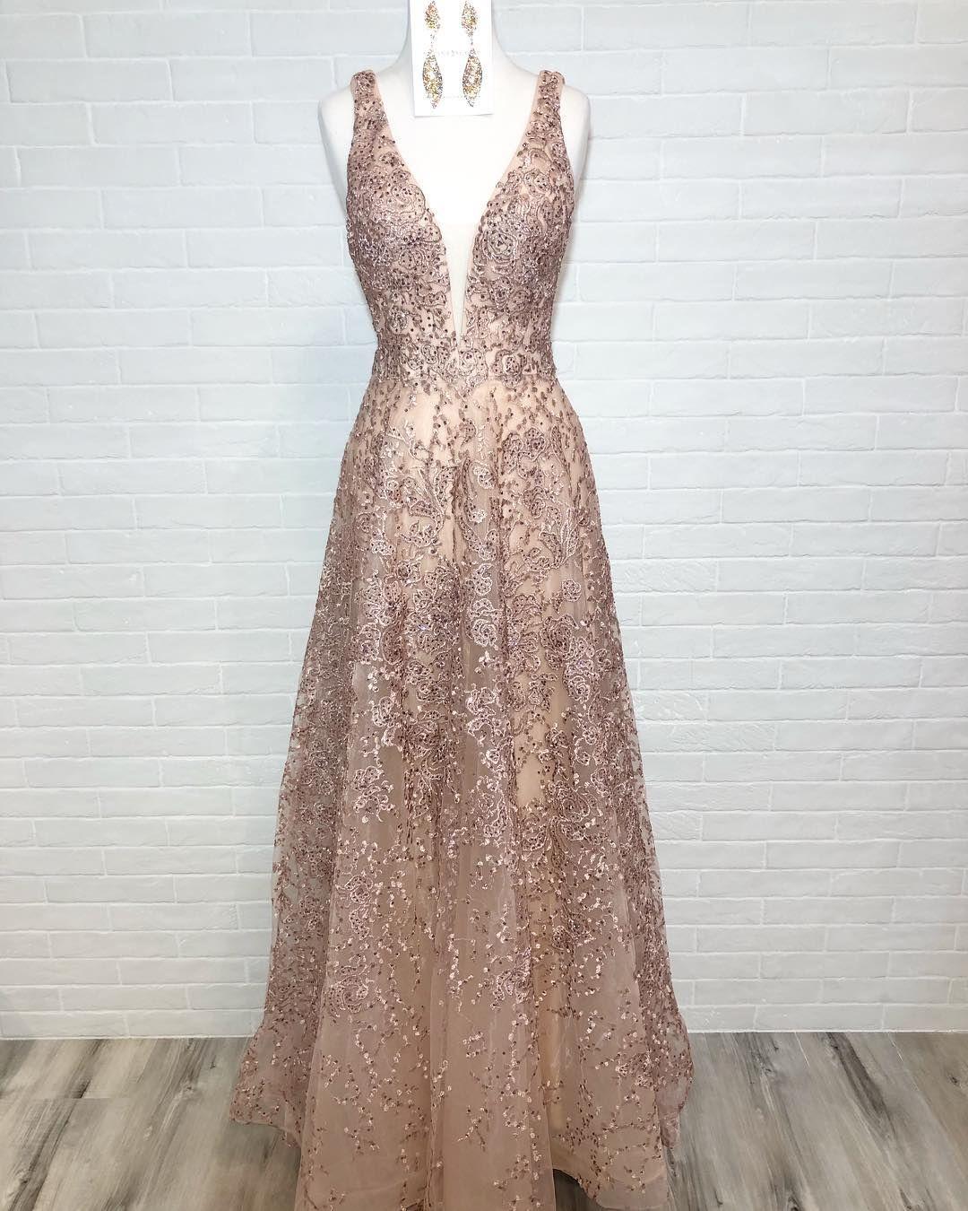 "23ab16f23e1ea PreVue Formal & Bridal on Instagram: ""Rosé all day ✨🍾 #sherrihill ..."