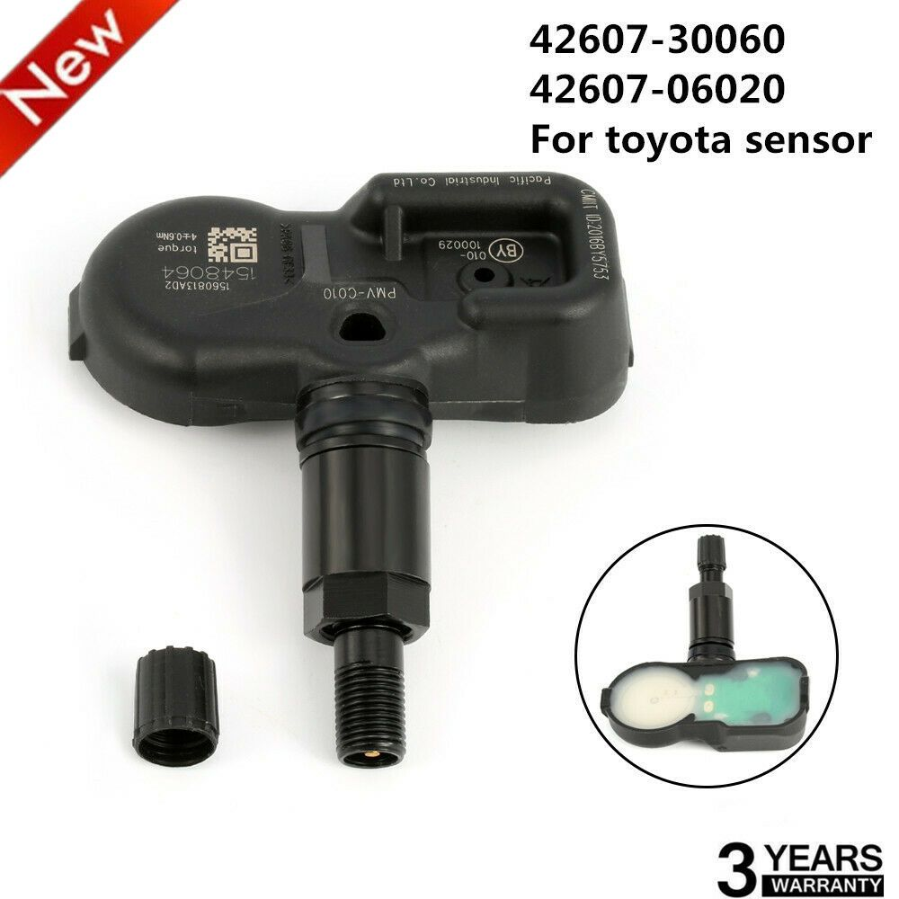 4 NEW TPMS Nut Black Tire Pressure Sensor Valve Stem Mounting Nuts QTY Four