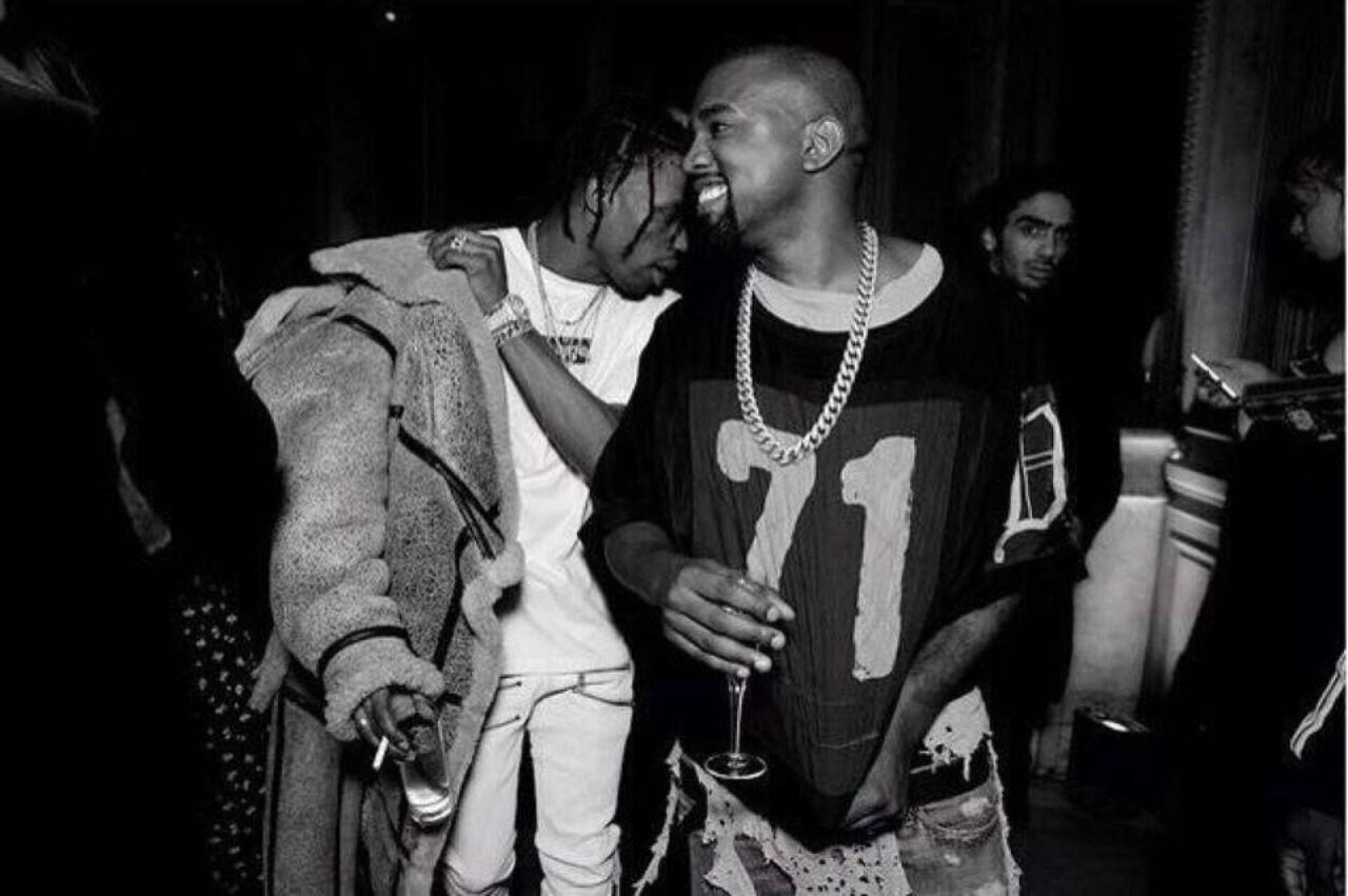 Eyeblogaboutnothin Travis Scott Kanye West Kanye