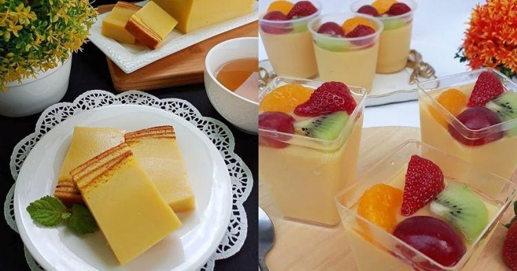 20 Resep Dessert Enak Sederhana Murah Dan Gampang Dibuat Makanan Penutup Mini Makanan Ringan Mudah Hidangan Penutup