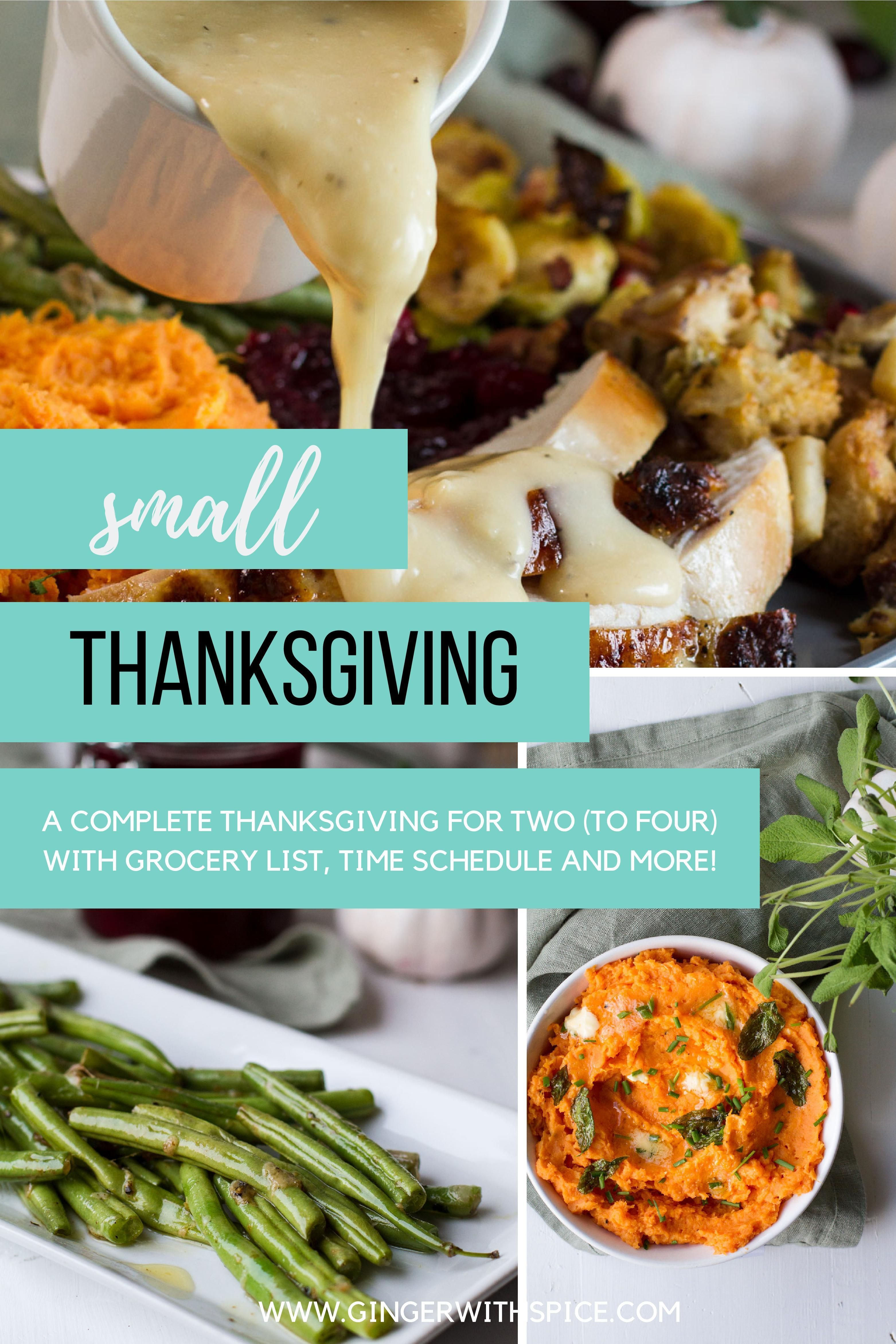 Thanksgiving For Two Plus Leftovers A Complete Menu And Planner In 2020 Thanksgiving Recipes Thanksgiving For Two Spice Recipes