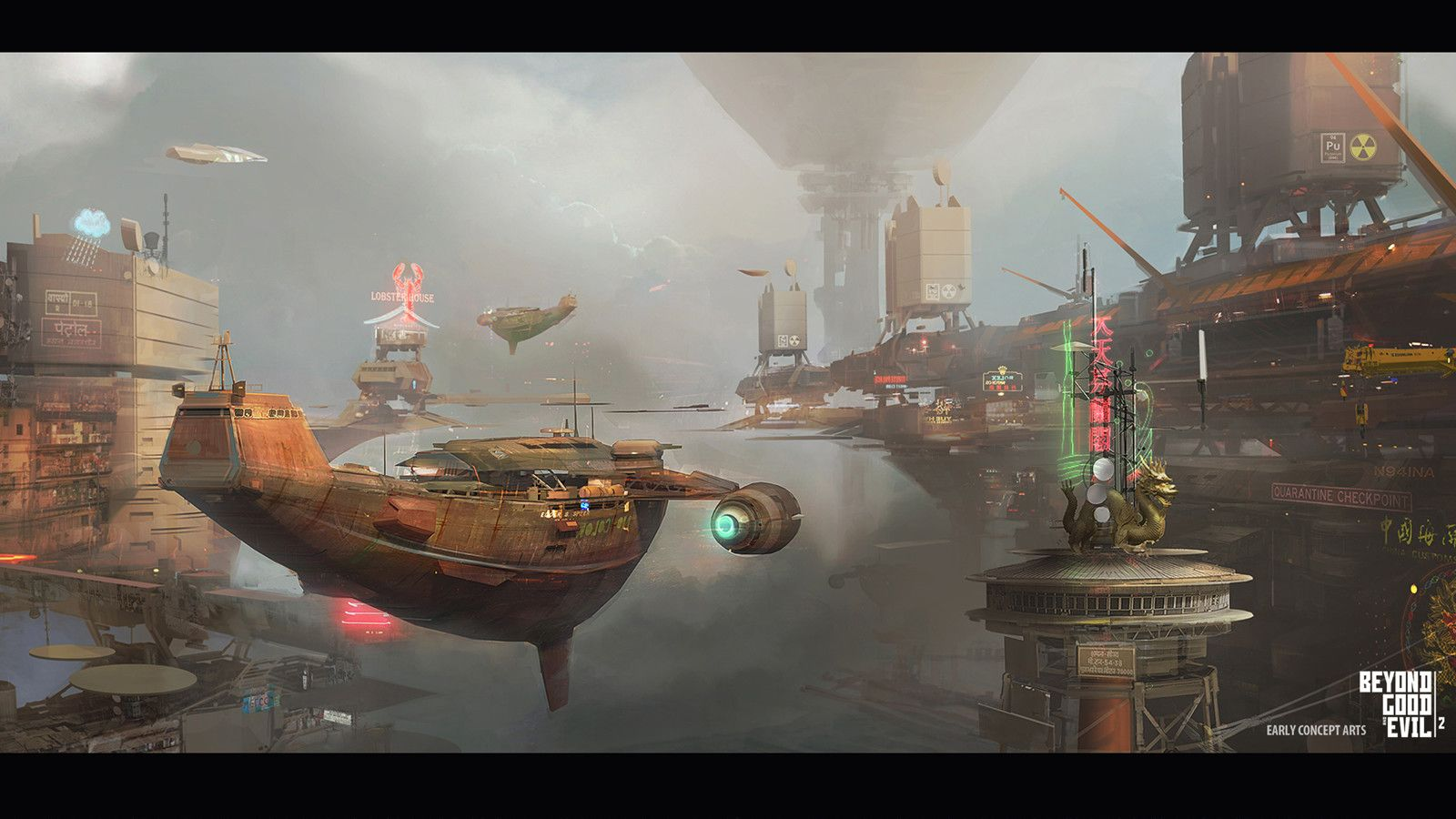 Pin By Crazy Lifestyle Interest On Beyond Good And Evil 2 Beyond Good And Evil Spaceship Art Art