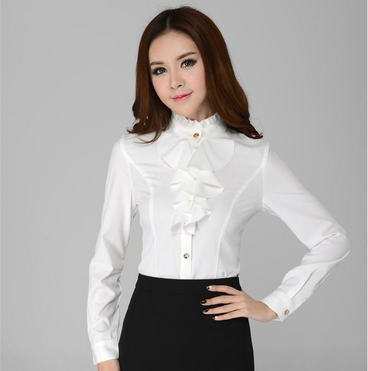 Aliexpress.com : Buy New 2014 Autumn Winter Fashion Blouses Women ...