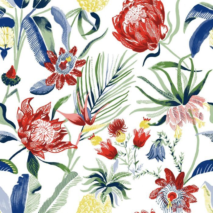Tropical Floral Peel & Stick Wallpaper - Threshold™ in ...