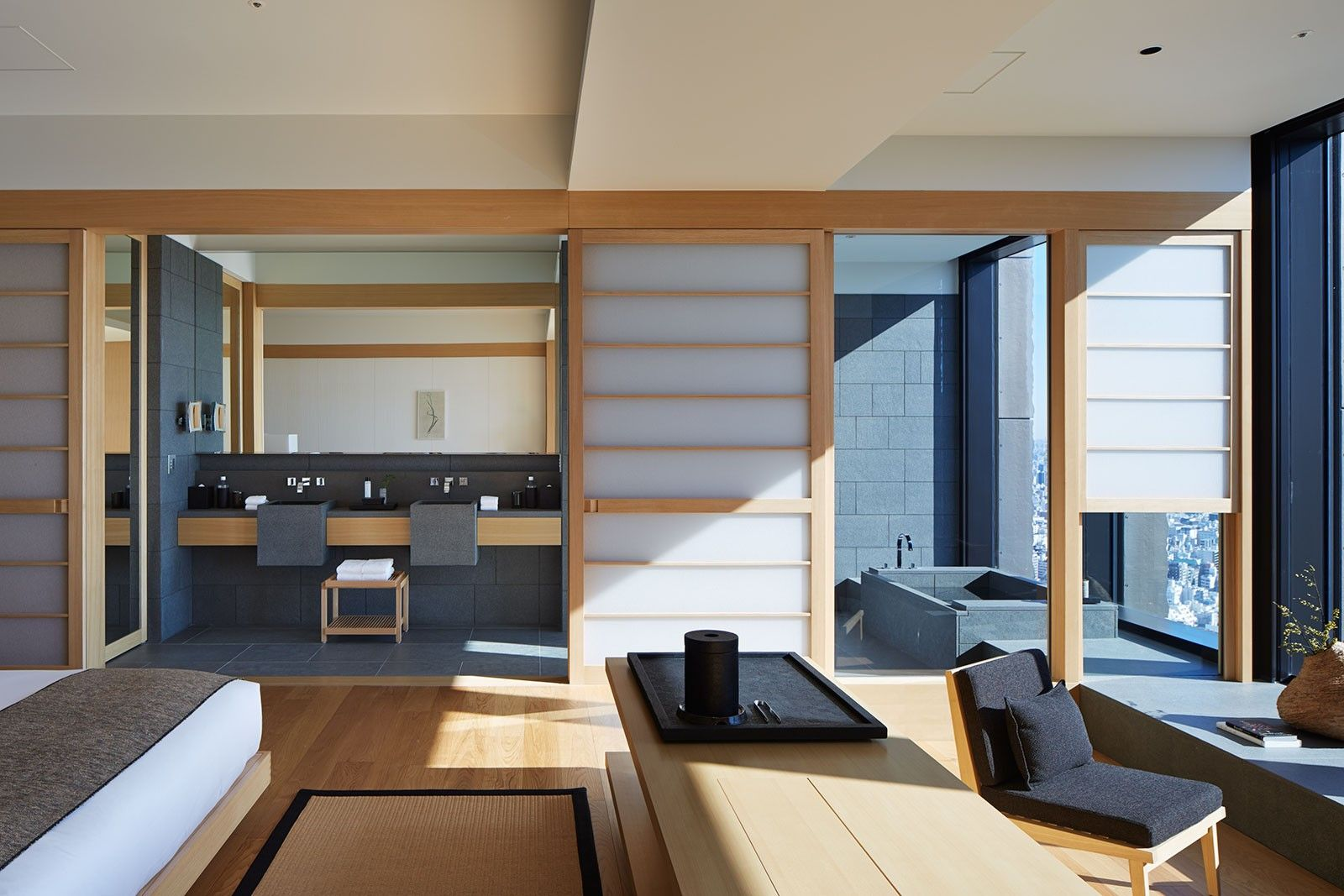 Explore the world of aman hotel resorts photo gallery for Design hotel tokyo