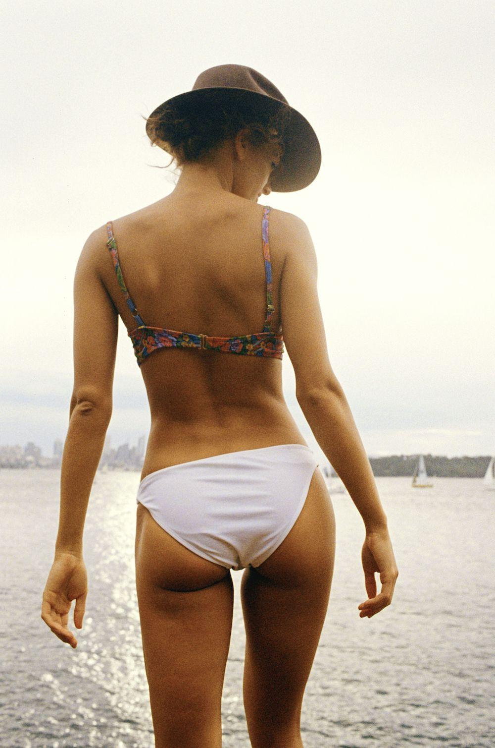 LOVEMORE photo by ANNABEL WENDT on 35mm film for KARAMELEON swimwear. model - KATIE KUIPER