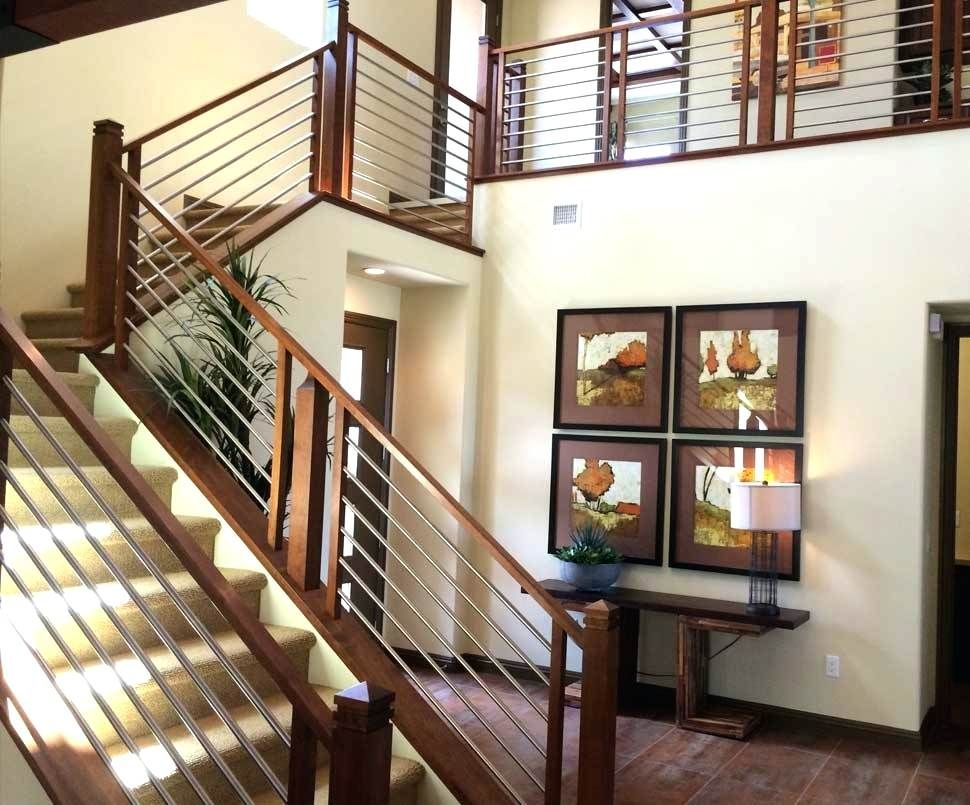Modern Metal Stair Railings Interior Wooden And Railing Ideas Founder  Design Parts Installation Contractors