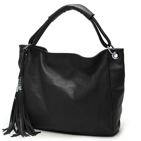 7703c43c2bc4 PU Leather Women Vintage Tassel Handbag Luxury Handbag Tote ...