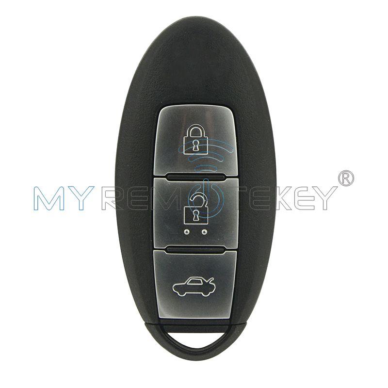Smart Key 3 Button 433 92 Mhz For Nissan Teana Keyless Entry Car