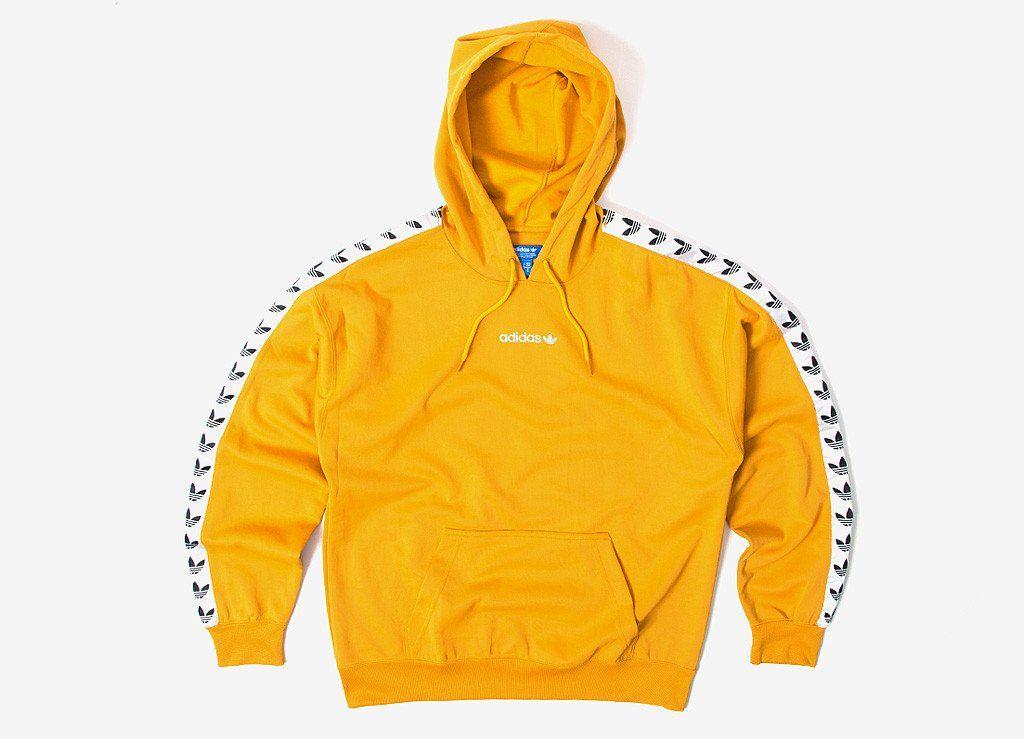 adidas hoodie tnt tape yellow