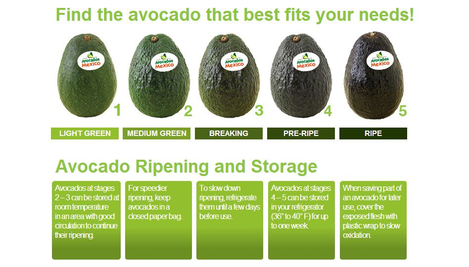 Quick Guide To Ripe Avocados Avocado Health Benefits Avocados From Mexico Ripe Avocado
