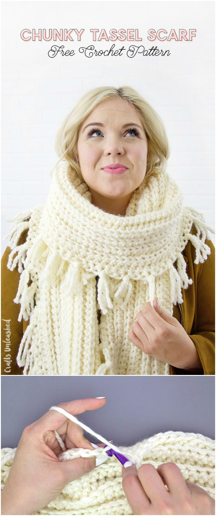 Chunky Scarf Pattern: Free Crochet Pattern - Consumer Crafts