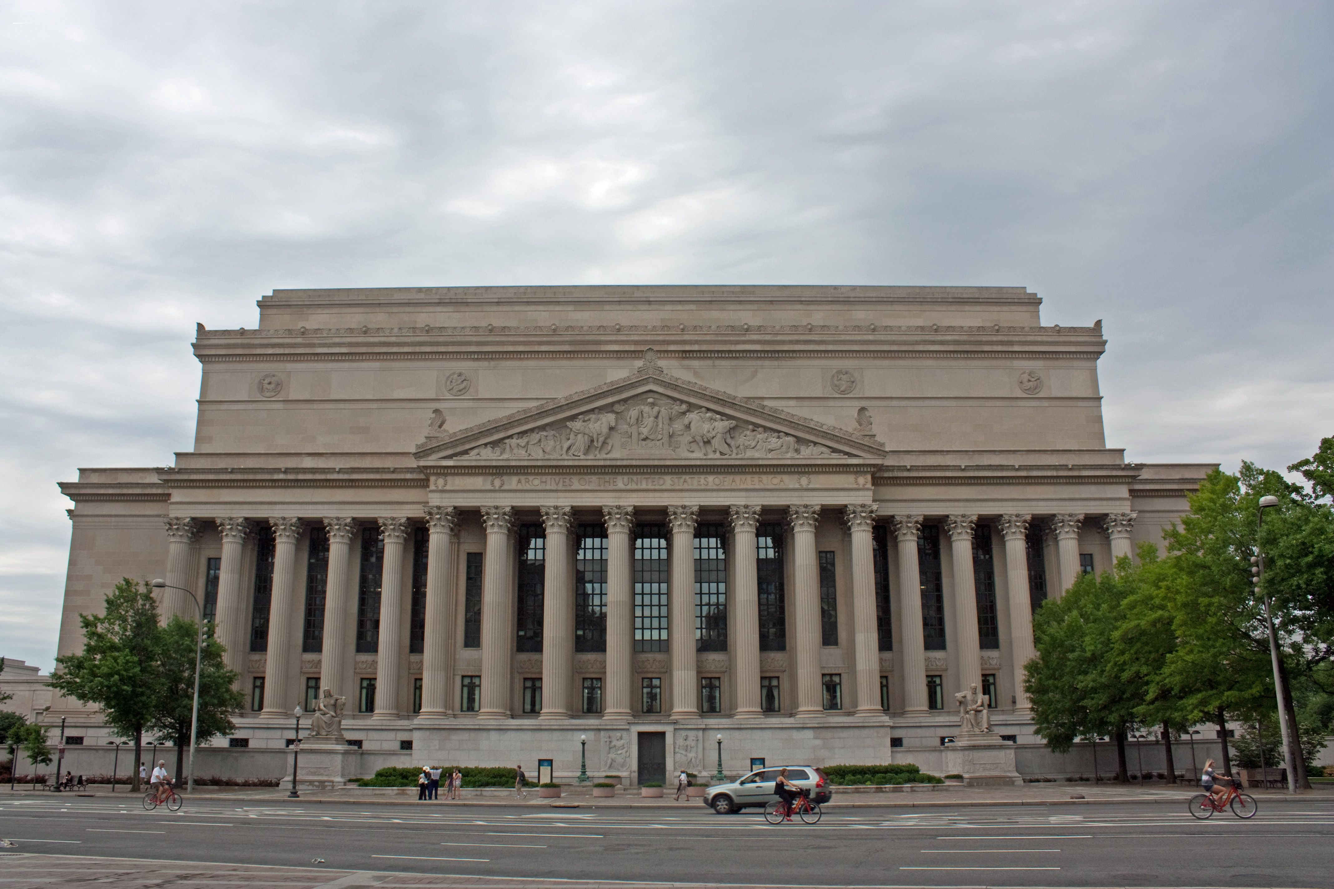 National Archives Building in Washington, D.C. View the ...